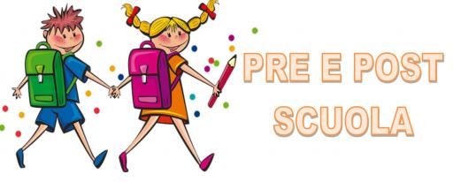 ISCRIZIONI ON LINE PRE E POST SCUOLA SCUOLA PRIMARIA Anno scolastico 2021/2022
